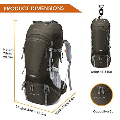 Mountaintop 65+5L Trekkingrucksack - 2